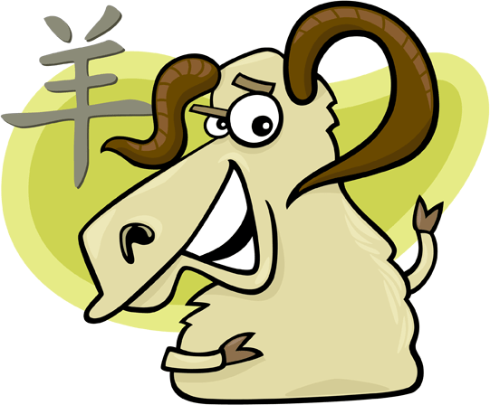 Chinese sign of the sheep or goat